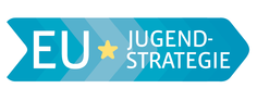 Das Logo der EU Jugendstrategie.