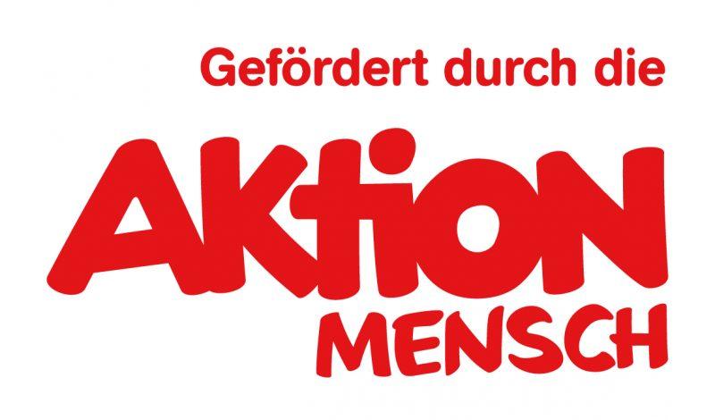Das Logo der Aktion Mensch. (Förderer des Projekts)