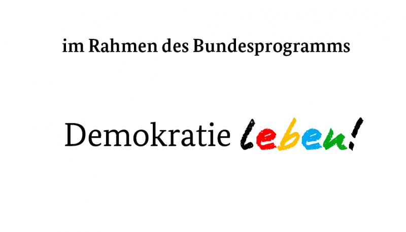 Das Logo von Demokratie Leben.
