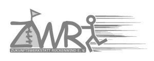 Das Logo der Zukunftswerkstatt Rückenwind.