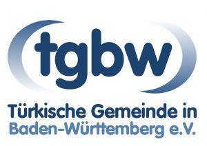 Das Logo der Türkischen Gemeinde in Baden-Württemberg.
